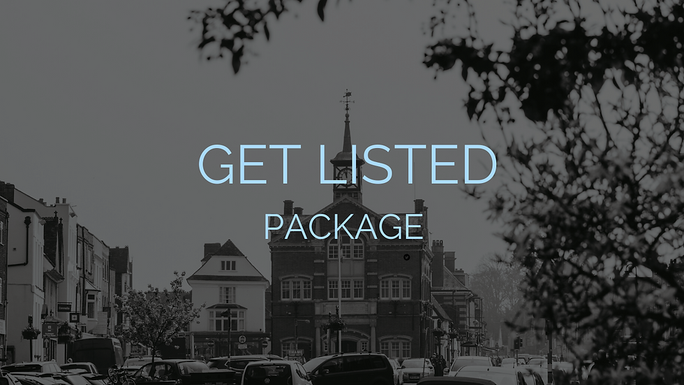 Get Listed Package 2020