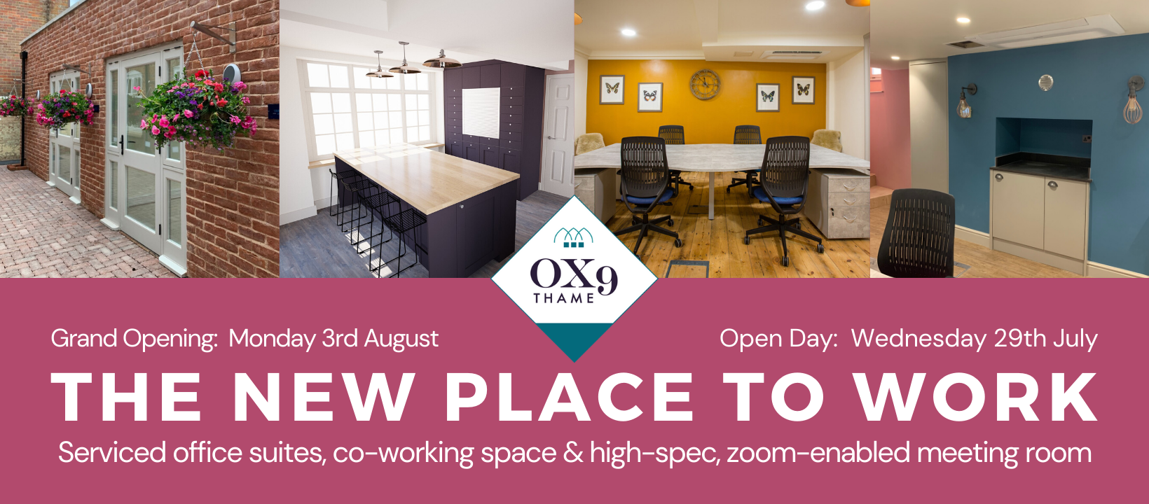 OX9 Thame | Serviced Offices | Shop OX9 Directory | Thame Rewards Club