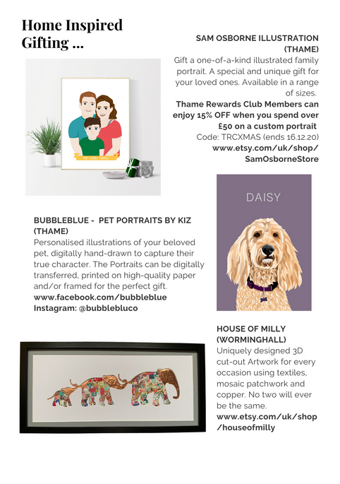 SHOP OX9 CHRISTMAS GIFT & PRODUCT GUIDE 2020 ; THAME REWARDS CLUB ; CHRISTMAS IN THAME ; SHOPPING IN THAME CHRISTMAS ; INDEPENDENT CHRISTMAS SHOPPING ; SAM OSBORNE ILLUSTRATION ; BUBBLEBLUE PET PORTRAITS BY KIZZY PORTER ; HOUSE OF MILLY ; HOME INSPIRED GIFTING THAME ; CHRISTMAS SHOPPING OXFORDSHIRE