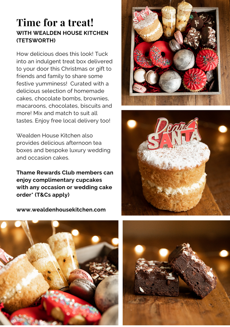 SHOP OX9 CHRISTMAS GIFT & PRODUCT GUIDE 2020 ; THAME REWARDS CLUB ; CHRISTMAS IN THAME ; SHOPPING IN THAME CHRISTMAS ; INDEPENDENT CHRISTMAS SHOPPING ; WEALDEN HOUSE KITCHEN