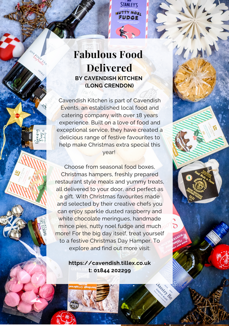 SHOP OX9 CHRISTMAS GIFT & PRODUCT GUIDE 2020 ; THAME REWARDS CLUB ; CHRISTMAS IN THAME ; SHOPPING IN THAME CHRISTMAS ; INDEPENDENT CHRISTMAS SHOPPING ; CAVENDISH EVENTS ; CAVENDISH EVENTS LONG CRENDON ; CAVENDISH KITCHEN LONG CRENDON