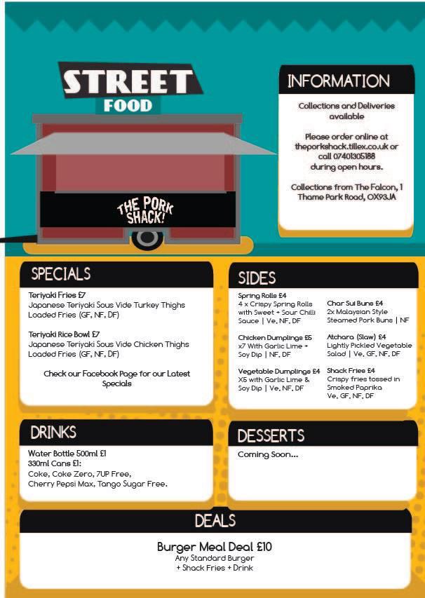 Pork Shack    Takeaway Food Thame   Fast Food Thame   Thame Rewards Club   Shop OX9