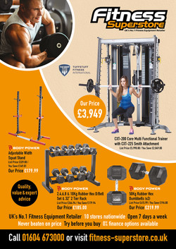 Fitness Superstore A4 advert for web