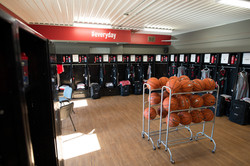 Athlete Institute Bears Den Lockers