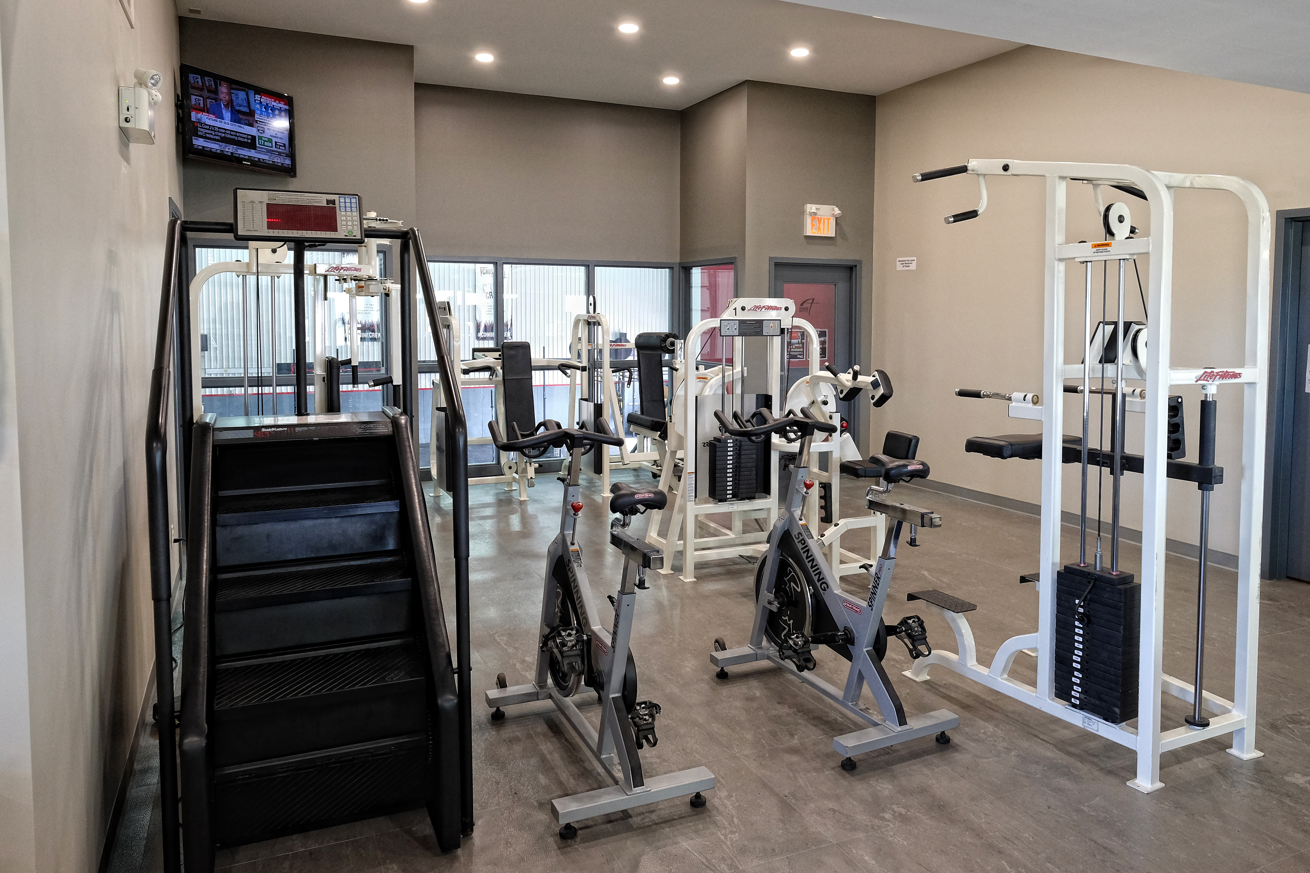 Stairmaster and Cable Machines