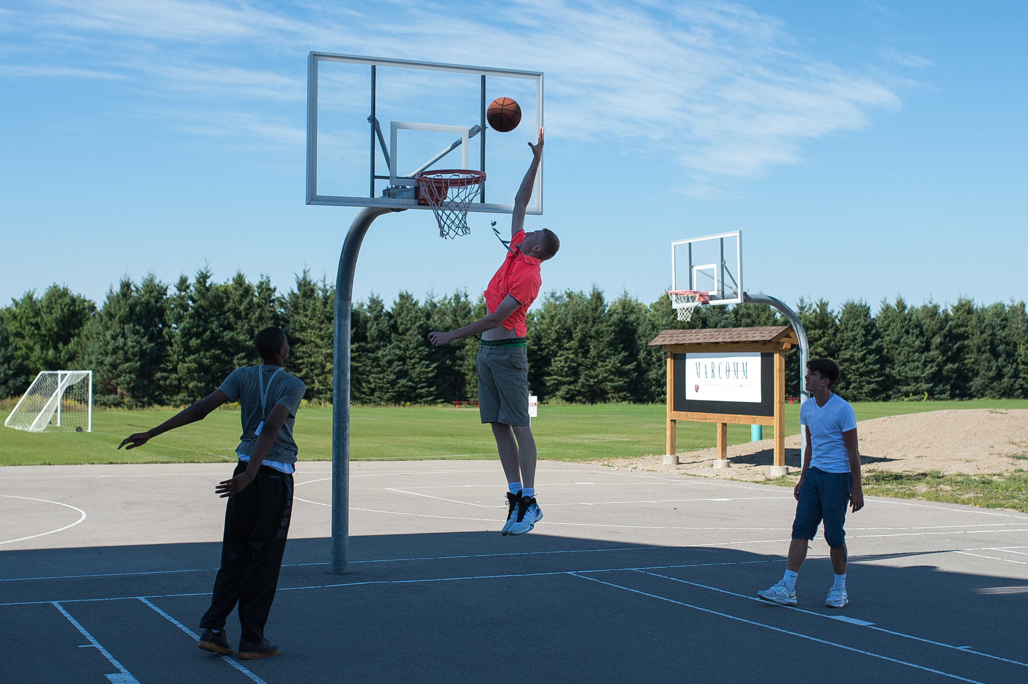3 Outdoor Basketball Courts