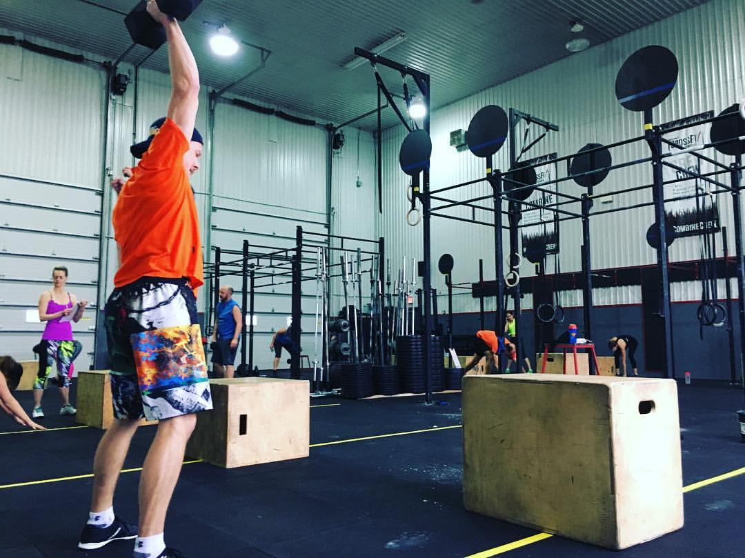 CrossFit Orangeville class
