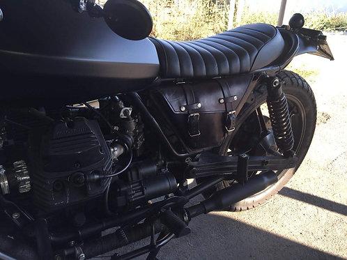 Borsa porta attrezzi sotto sella, fianchetto, Moto Guzzi serie piccola