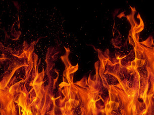 Firefighter struck by car, fire suspected arson