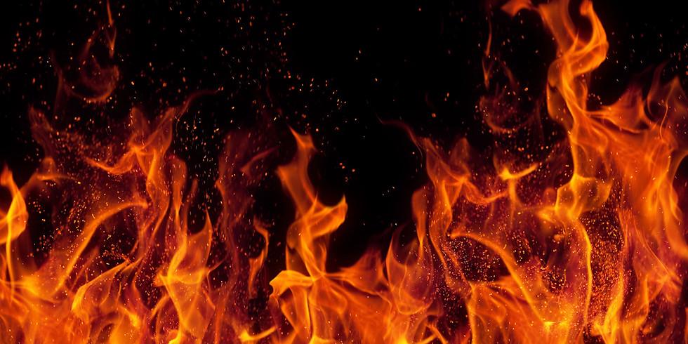 """MYoga lesson """"Rebel"""": la vita del ribelle è un fuoco che arde..."""
