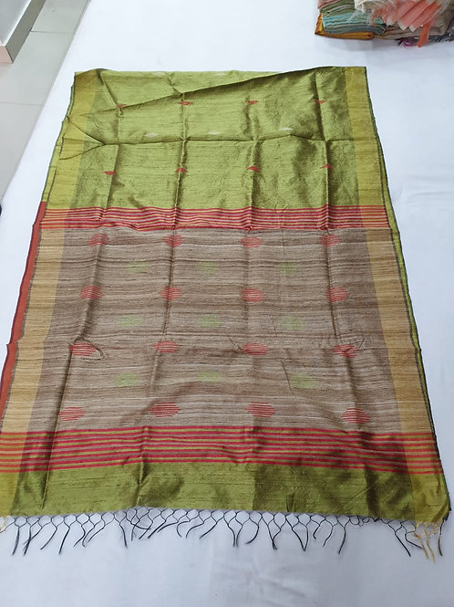 Bright Coloured Bhagalpuri Silk