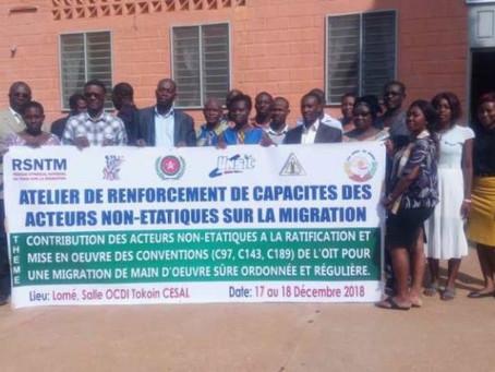 Des acteurs non-étatiques font face aux problèmes de la migration au Togo