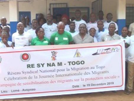 Les réfugiés migrants ivoiriens disent merci à RESYNAM-Togo