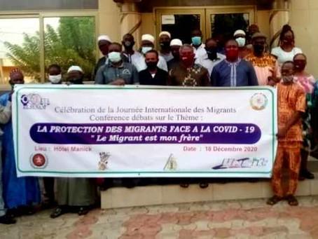 Journée internationale des migrants, RESYNAM-Togo solidaire avec eux