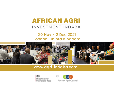 African Agri Investment Indaba 2021 is Coming to London