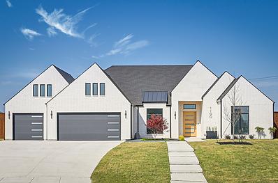 modern home builder Mansfield TX