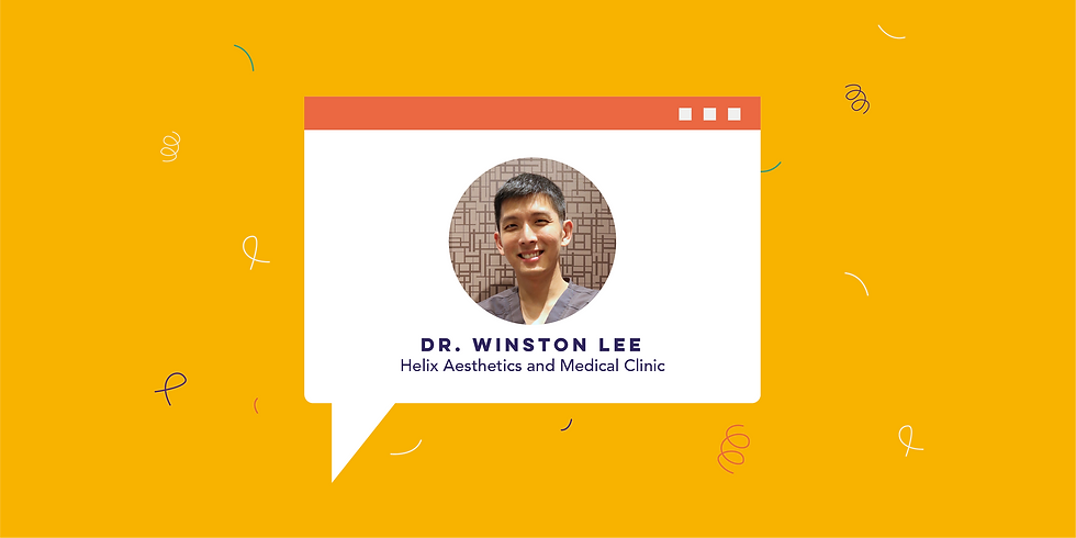 IG Live: Talking Bodies with Dr. Winston Lee