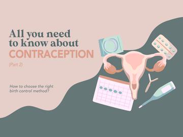 Contraceptive Options (Part II)