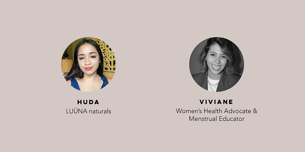 Workshop: Period Care & Menstrual Health