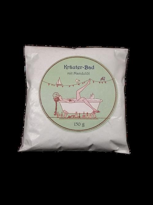Kräuter-Bad mit Mandelöl
