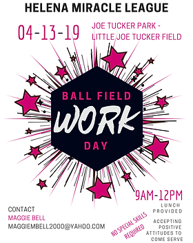 Work Day at the Ballfield