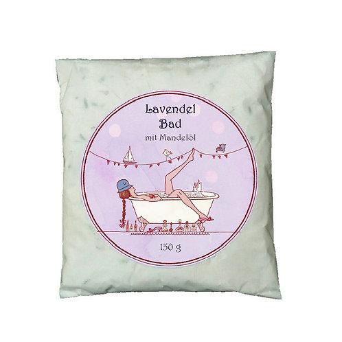 Lavendel-Bad mit Mandelöl