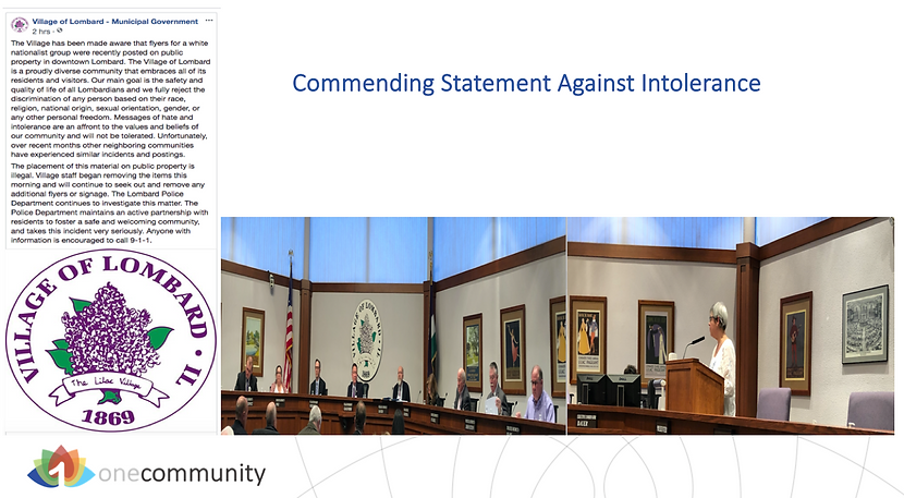 0009 078 Commending Statement Against In