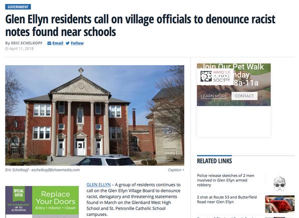 0002 Glen Ellyn residents call on villag