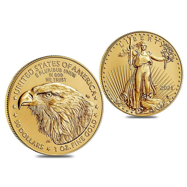 New 2021 Gold Coin
