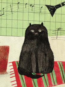 Ilustración de María Elina para el libro Mi tortugo