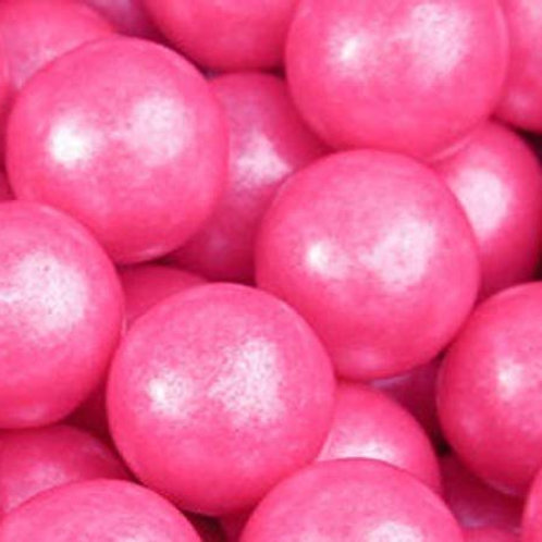 "Pink Shimmer Party .75"" Premium Gumballs  Choose Weight"