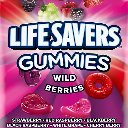 Lifesavers Wild Berries Gummies Candy - You Choose  5 - 30 LBs