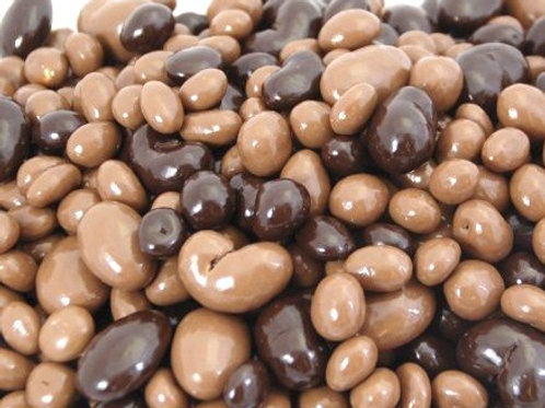 Dark & Milk Chocolate Bridge Mix - Choose 5 - 40 LBs