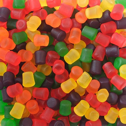 Jujubes Tiny Gum Drops Assorted Bulk Candy - Choose 5 - 40 LBs