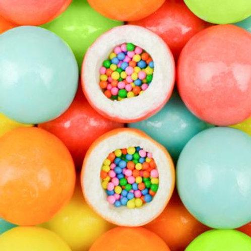 Cupcake Candy Filled Custom Gumballs  -   Choose Weight   5 - 30