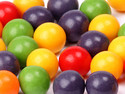 "Gobstoppers  5/8"" Mini Jawbreakers Hard Bulk Candy centers   4 - 30 LBs"