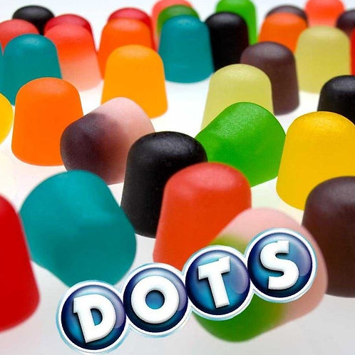 Dots Gum Drops Assorted Bulk Candy - Choose 5 - 40 LBs