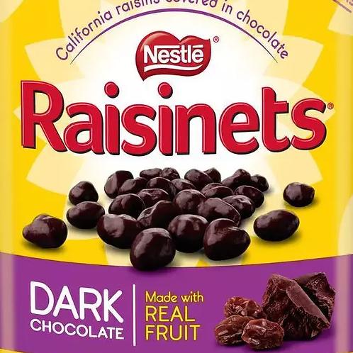 Nestle Raisinets Dark Chocolate Covered Raisins  - Choose 5 - 40 LBs