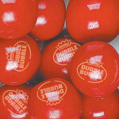 """Very Cherry Filled Dubble Bubble 1"""" Gumballs  Choose Weight  4 - 30 LBs"""
