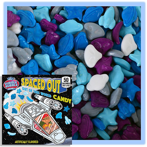 Spaced Out Hard Fruit Bulk Candy - Choose 5 - 40 LBs