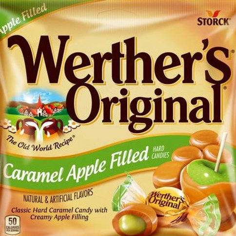 Werther's Caramel Apple Chewy Candy 4 LBs