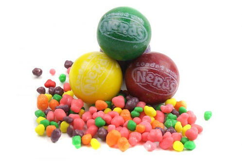 "Nerds Candy Filled 1"" Gumballs  Choose Weight  4 - 30 LBs"