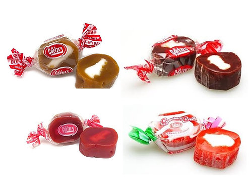 Goetze's Assorted Creams Bullseye Wrapped candy  4 - 30 LBs