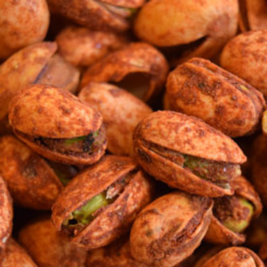 Chili Pistachios Nuts   4 - 40 LBS   Choose Weight
