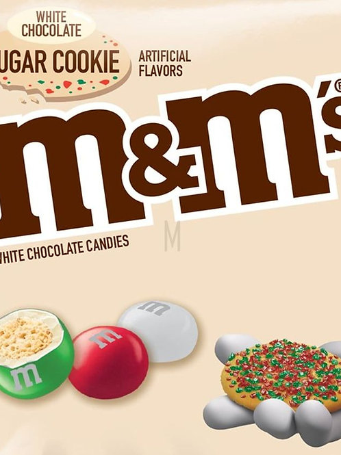 Sugar Cookie White M&Ms Chocolate Candy - Choose weight 6-40 LBs