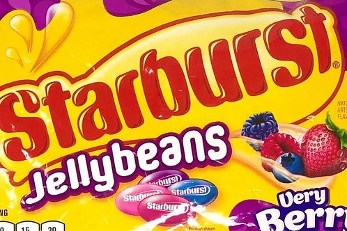 Starburst Very Berry Jelly Beans  6 - 40 LBs