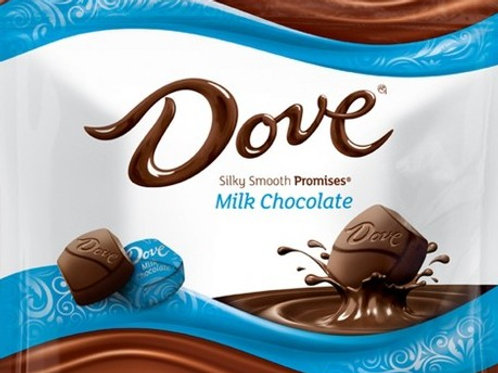 Dove Milk Chocolate Promises Wrapped candy  2 - 12 LBs