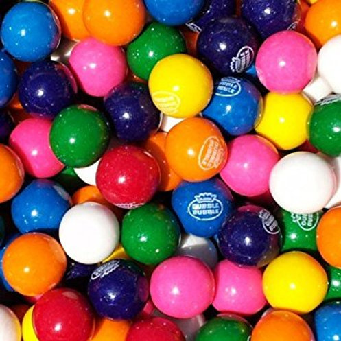 "Assorted Dubble Bubble 3/4"" Gumballs     Choose Weight   4 - 30 LBs"