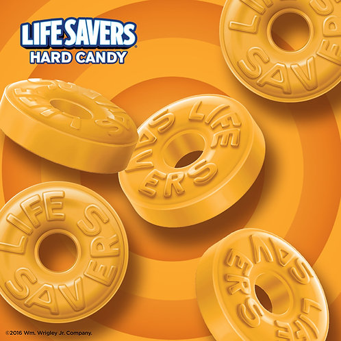 Butter Rum Lifesavers Hard Candy - You Choose  5 - 30 LBs