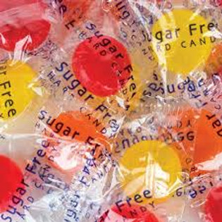 Sugar Free Fruit Buttons Hard Candy - Choose 4 - 20 LBs